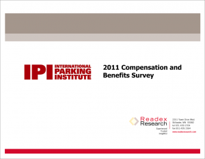 Compensation and Benefits Survey 2011