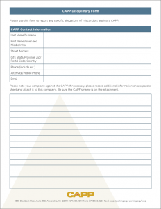 CAPP_Disciplinary_Reporting_Form