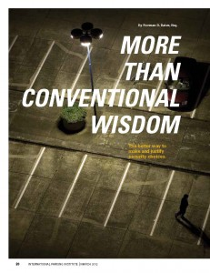 TPP-2012-03-More Than Conventional Wisdom