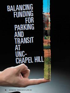 TPP-2012-04-Balancing Funding for Parking and Transit at UNC Chapel Hill