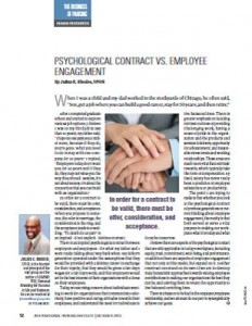 TPP-2013-10-Psychological Contract vs. Employee Engagement