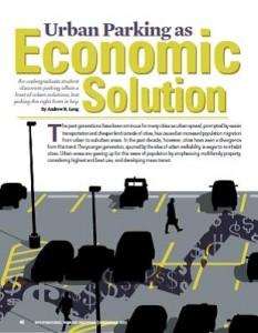 TPP-2013-12-Urban Parking as Economic Solution