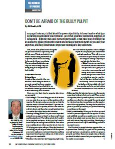 TPP-2014-10-Don't Be Afraid Of The Bully Pulpit