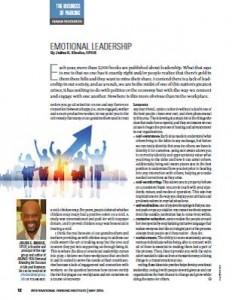 TPP-2015-05-Emotional Leadership