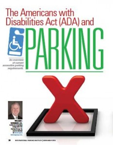 TPP-2015-11-The Americans with Disabilities Act (ADA) and Parking