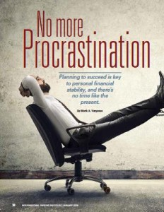 TPP-2016-01-No More Procrastination