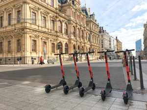 e-scooters in France