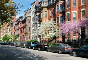 on-street parking in Boston