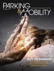 Parking & Mobility cover, November 2019 issue