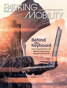 Parking & Mobility February 2020 cover