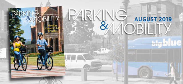 Parking & Mobility Magazine August issue