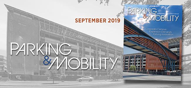 Parking & Mobility Magazine September issue