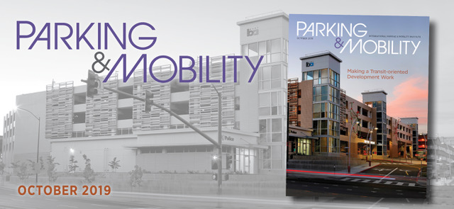Parking & Mobility Magazine October issue