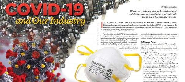 Parking and Mobility April Mag 2020 COVID -19