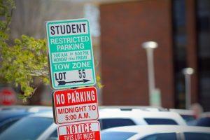 university campus parking TDM