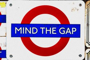 London Mind the Gap icon
