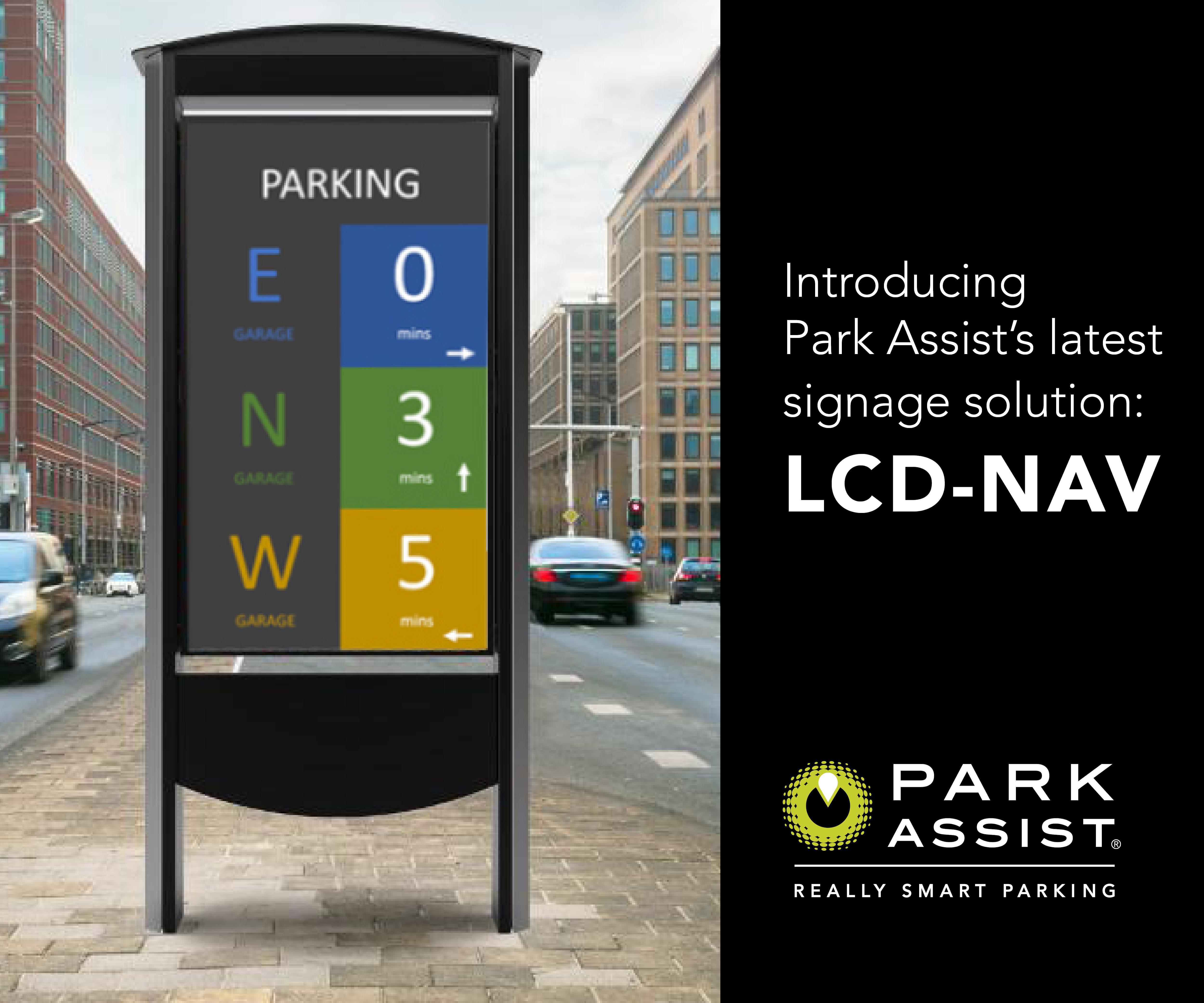 LCD NAV Park Assist