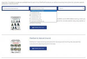 Flexpost website
