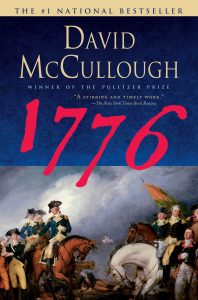 """Cover image of """"1776,"""" by David McCullough"""