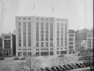 Capital Garage, Washington, D.C., 1918