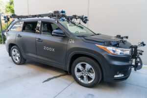 Zoox self driving vehicle